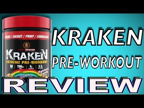 Kraken Pre Workout By Sparta Nutrition Review