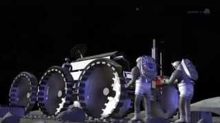 Meteorite Impact : Explosion on the Moon - Video by Nasa