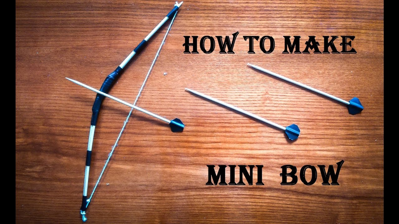 Bow And Arrow Craft For Preschoolers