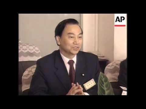 Taiwanese airline businessmen meet China's civil aviation administration