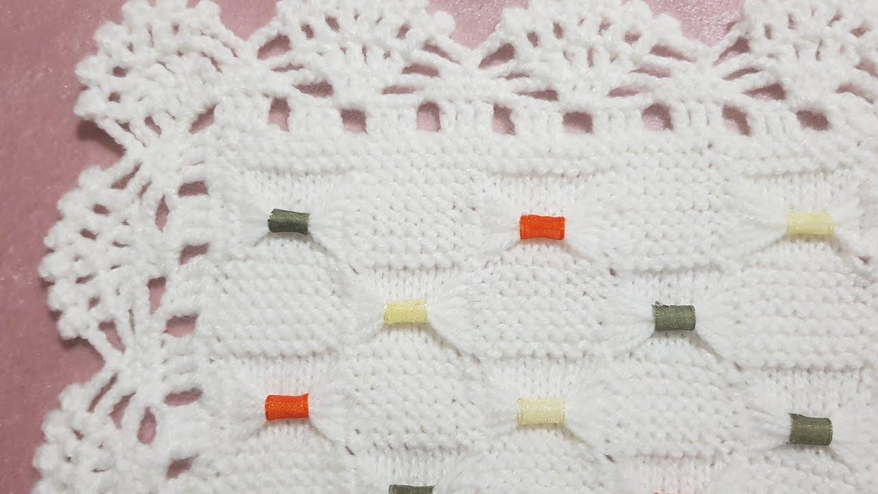 Şişle Bebek Battaniyesi Modeli Yapılışı Videolu