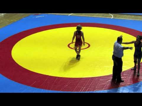 2012 Cadet Pan-American Championships: 52 kg Jasmine Bailey (USA) vs. El Salvador