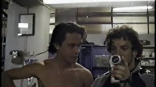 Pippo Inzaghi and Alex Del Piero in locker room