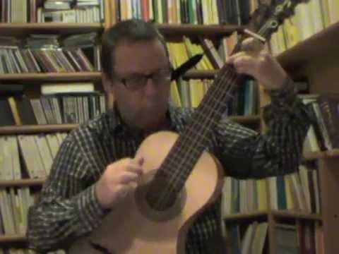 Castro de Gistau, Fandango (Th. Schmitt, 6-course guitar)