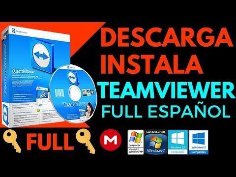 Como Descargar e Instalar TeamViewer 2016 Ultima Versión Full Español (Windows 7/8/8.1/10) Mega