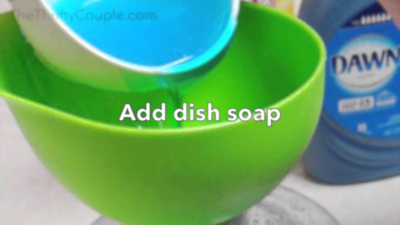 Liquid Laundry Detergent Recipe