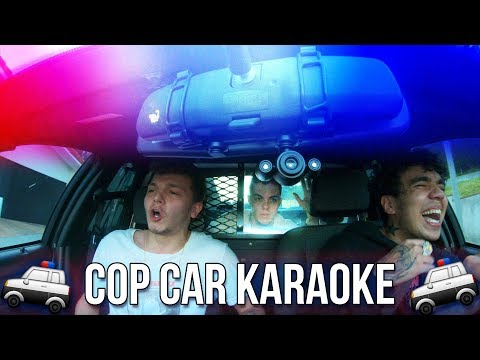 COP CAR CARPOOL KARAOKE