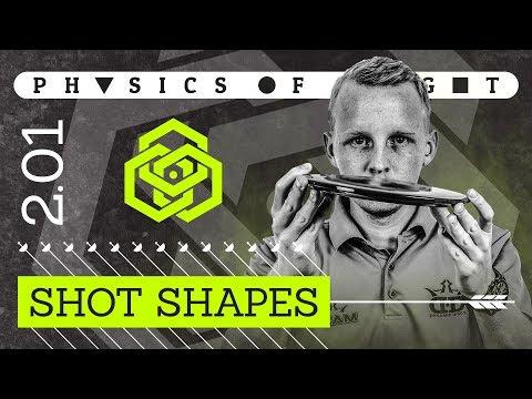Physics of Flight 2.1: Shot Shapes   Disc Golf Instructional Video