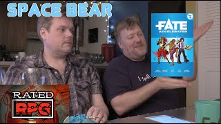 Fate Accelerated - Space Bear (Rated RPG)