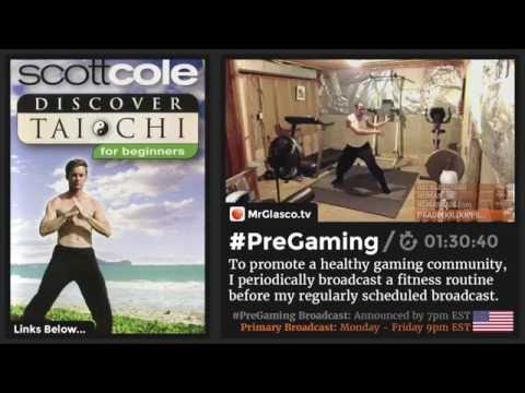 #PreGaming: #ScottCole Discover #TaiChi for Beginners DVD (Overwatch @ 9pm US-EST) 💪