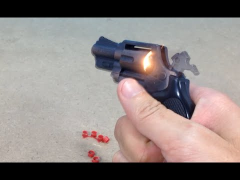 The Mini Revolver Cap Gun Copper Toy Gun Youtube