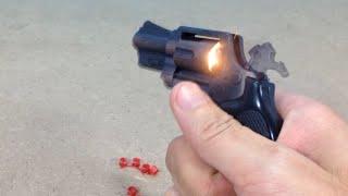 The mini revolver cap gun | Copper toy gun