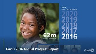 Gavi's 2016 Progress Report