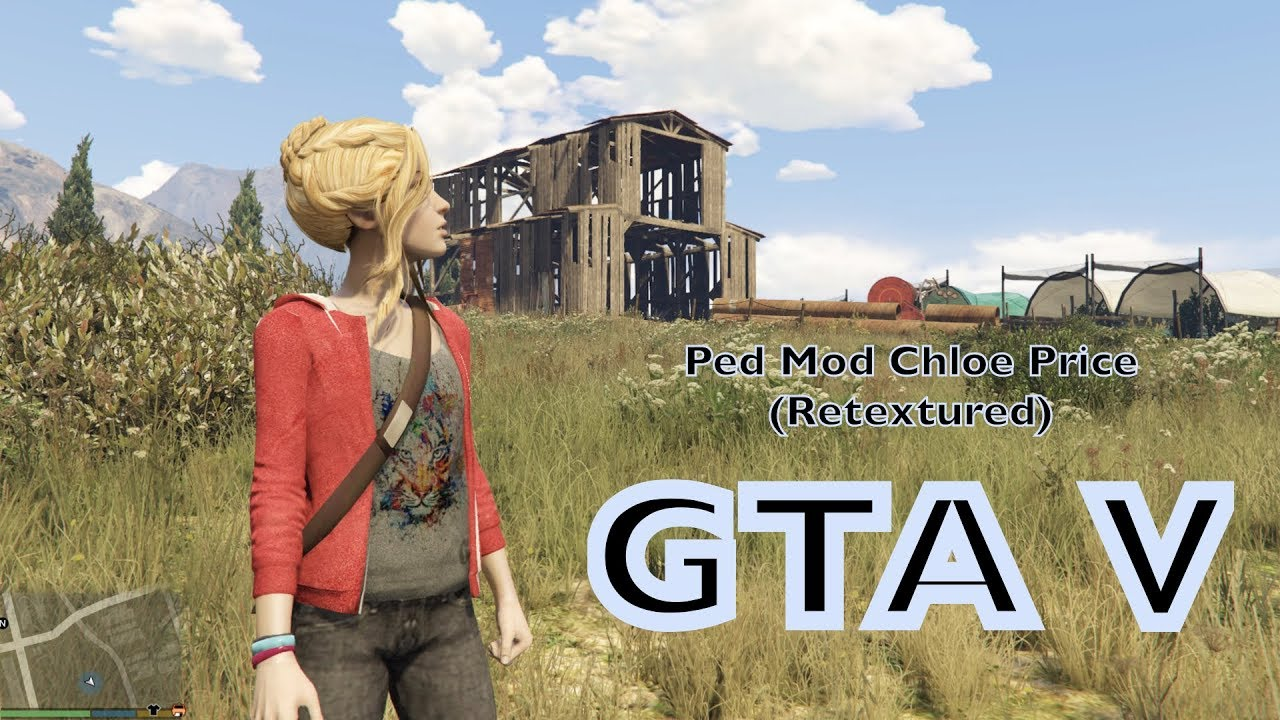 GTA V Ped Mod Chloe Price (Retextured) Showcase and Installation