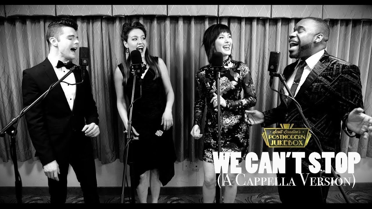 We Can 39 T Stop Acapella Version Miley Cyrus 39 50s Style Postmodern Jukebox Youtube