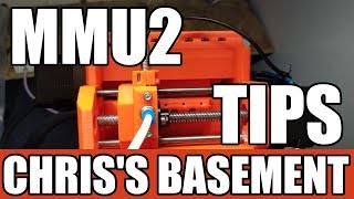 Prusa MMU2 Multi Material Unit  Tips and Tricks  Chris's Basement