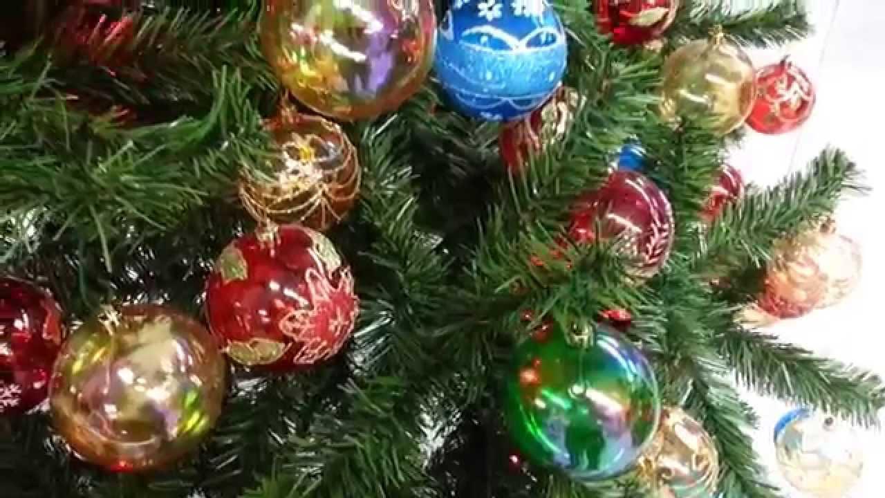 Varias ideas para decorar arbol de navidad con bolas 2017 - Arboles de navidad decorados 2017 ...