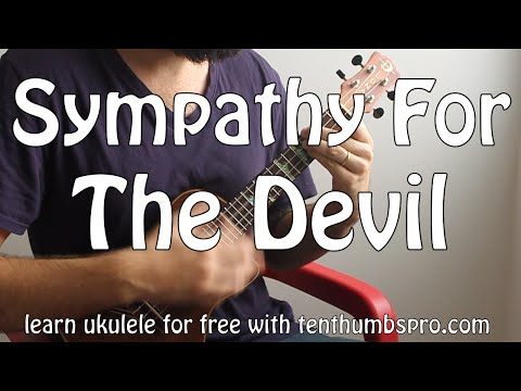 Sympathy for the Devil - Rolling Stones - How to play Ukulele song tutorial
