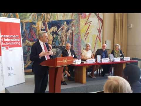 Remarks by UNHCR Chief Filippo Grandi at the book launch of Prince Sadruddin Aga Khan's biography