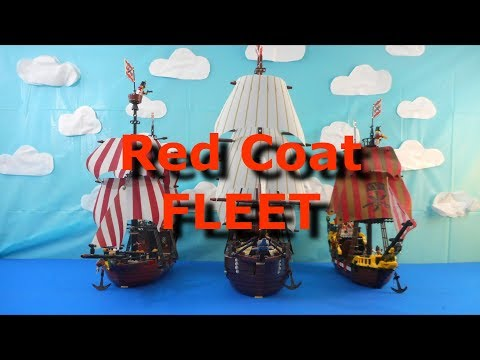 Lego Red Coat Fleet/Navy