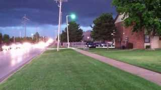 NORMAN, OK - APPROACHING STORM - MAY 31, 2013