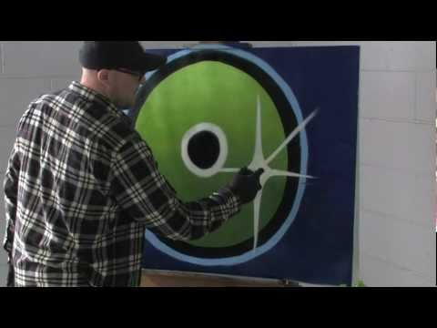 Montana Spray Paint Tips and Techniques - YouTube