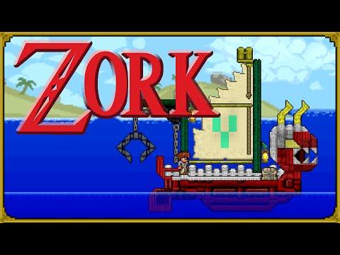 Terraria - The Adventure On Zork: Starter World With Stylist