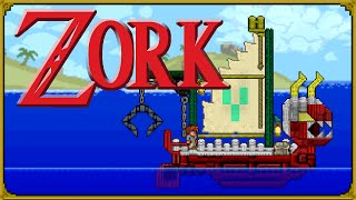 Terraria - The Adventure on Zork: Starter world with stylist