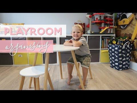Playroom Organisation | Ikea Lego Table Hack | Storage Ideas And Mum Tips & Hacks