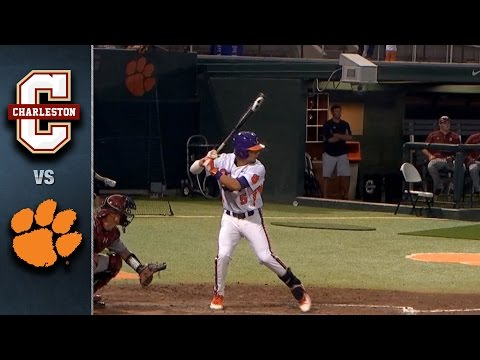 Clemson vs. College of Charleston Baseball Highlights (May 10, 2016)