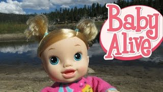 BABY ALIVE: OUTING Goes To BIG BEAR LAKE California!💕