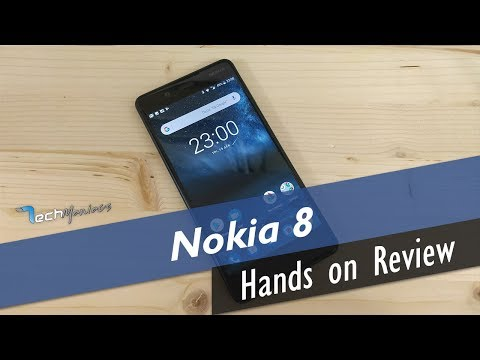Nokia 8 Hands on Review [Greek]