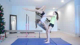2 Person Acro Stunts!