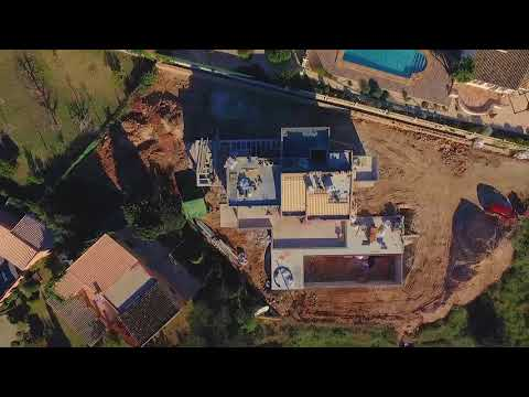 Short video of the construction of our Luxurious Javea Villa - 'Can Singapur'
