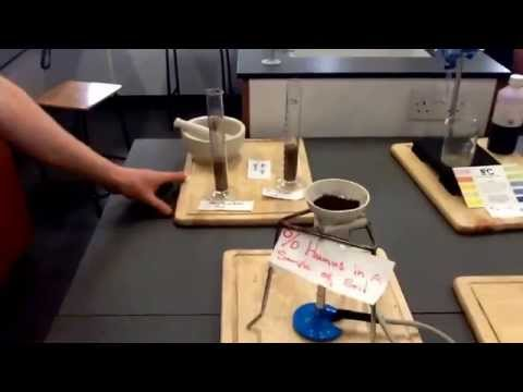 ecology and soil experiments