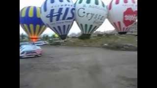 На воздушном шаре над Каппадокией.