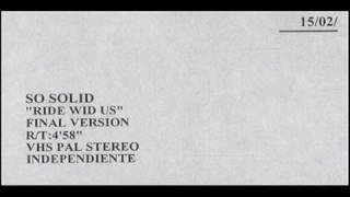 So Solid Crew - Ride Wid Us (Ac's Dark Dub Edit) [HD SOUND]