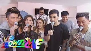 Repeat youtube video It's Showtime: Vice and Kuya Kim's preparation