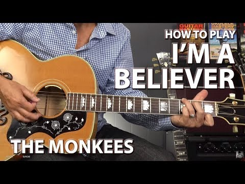 I'm a Believer by The Monkees - Guitar Lesson
