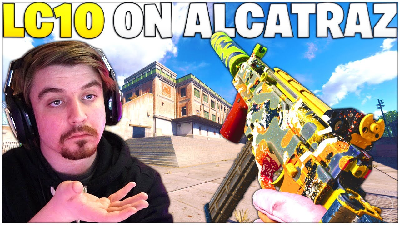 The LC10 On Alcatraz - Is This SMG Still Any Good? *Best LC10 Setup* (Rebirth Island - Warzone)