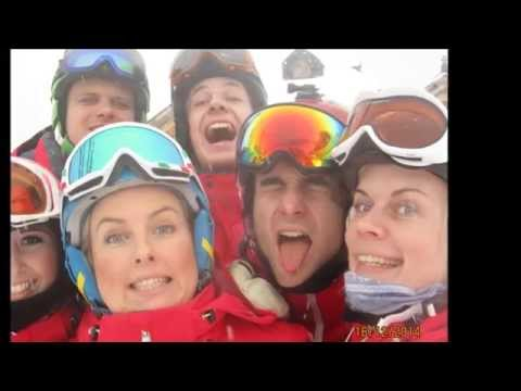 Trier ski Canazei - YouTube