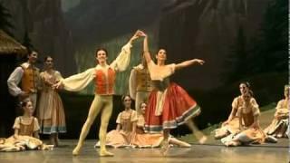Giselle; 2005  Scala Ballet   Pas Paysanne pas de deux Sophie Sarrote Antonio Sutera