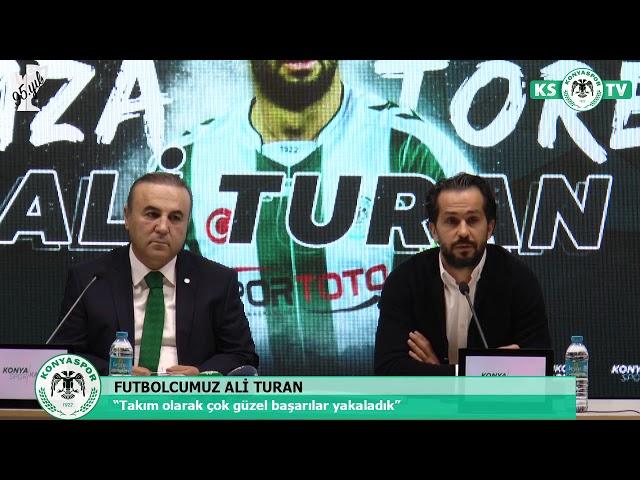 Kaptanlarımızdan Ali Turan'ın sözleşmesi 2 yıl daha uzatıldı