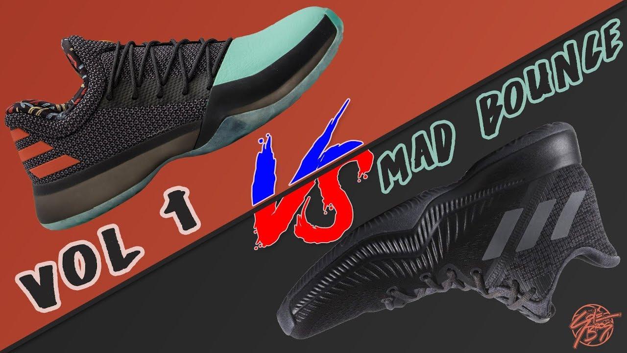 139b0fce3 Adidas Harden Vol. 1 vs Mad Bounce! - YouTube