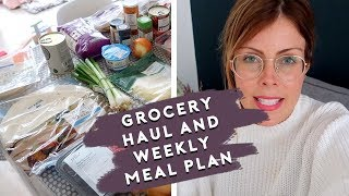 FAMILY GROCERY HAUL & MEAL PLAN - TESCOS MAY 2019