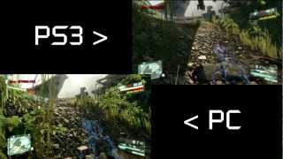 Crysis 3 Beta | Graphics comparison PC vs PS3