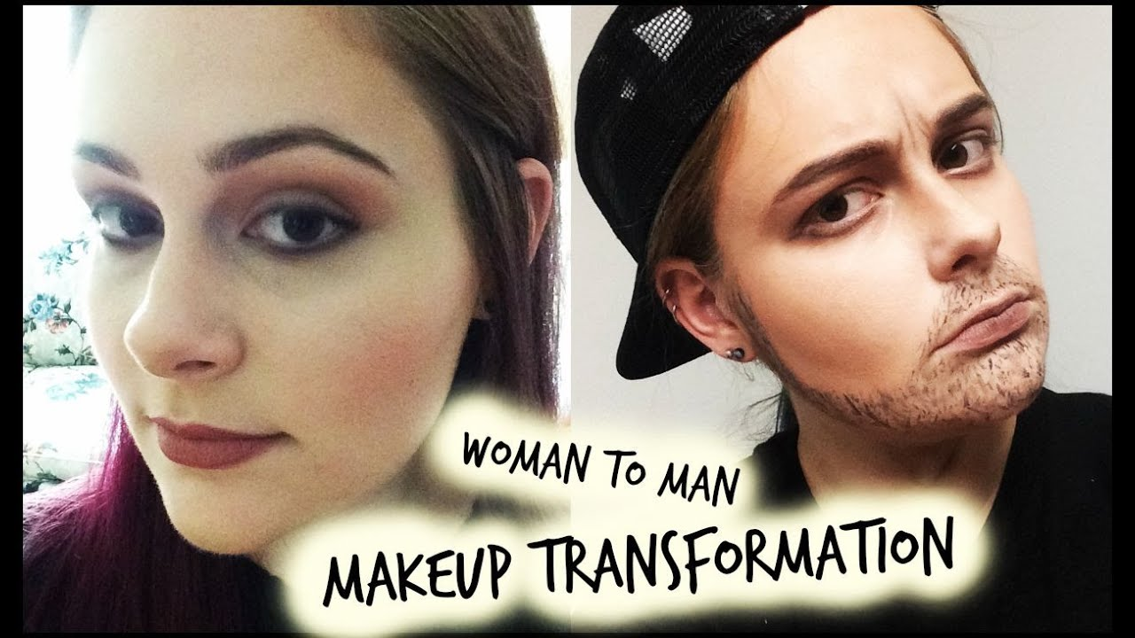 Man into woman transformation video-6003