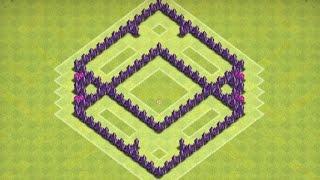 Clash Of Clans - Town Hall 5 Farming Base + Speed Build 2014 (Diamond)