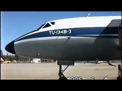 THE SIGHT & THE SOUND 9/12 : Vietnam Airlines TU-134B-3 VN-A116 documentary from Da Nang to Hanoi