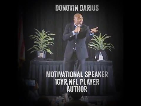 """Donovin Darius Motivates  """" Achieve Your Greatness"""""""